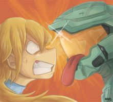 RQ - Samus VS Master Chief? by ayyk92
