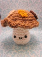 Wee Little Mushroom Fungus Amigurumi by Spudsstitches