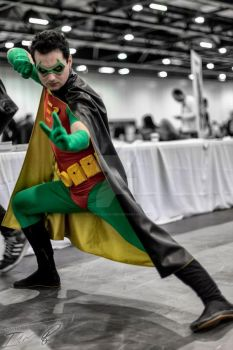 Tim Drake Robin suit by Red-Space-Ranger