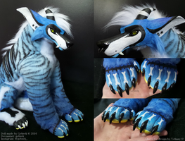 Poseable Artdoll Commission: Vehnny by gebrek