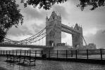 Tower Bridge on a Rainy Day by Pajunen