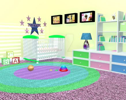 Childs Room_Day by AssassinGemini15