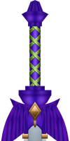 SS Master Sword [Incomplete Form] by BLUEamnesiac
