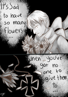Sad Flowers by cacahuate16