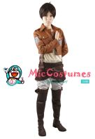 Attack on Titan Eren Yeager Cosplay by miccostumes