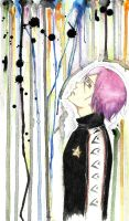 FREE! Matsuoka Rin /watercolour/ Colors in my head by deicus4ever