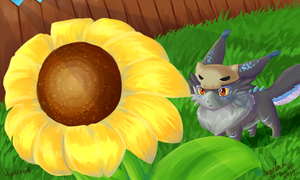 Sunflower practise by MsDinoGoat