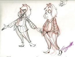 Beetlejuice Sketches by WinkGuy1