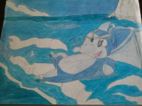 Flying neopet in ice land 2006 by bassxx