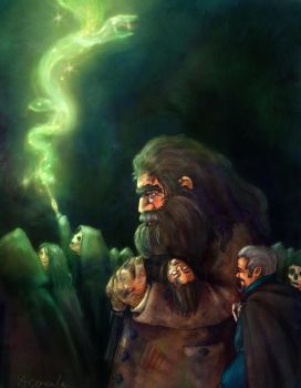 Hagrid's March by SaBenerica