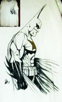 Mike Turners batman....on a t shirt by Spydi-mel