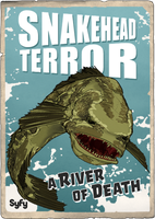 Syfy MM Snakehead Terror by Randoman92