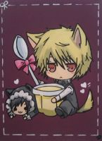 Neko Shizuo And Neko Izaya by Shunkou-Ice