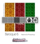 Baroque 6 pattern by PeterPlastic