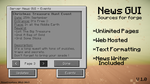 Minecraft News Gui - Sources Available by AziasCreations