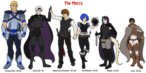 Main Mercs by JustaMerc