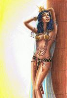 The Mistress of Pharoah by MyWorld1