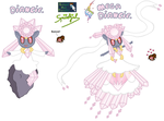 Diancie and Mega Diancie by SpriteGirl