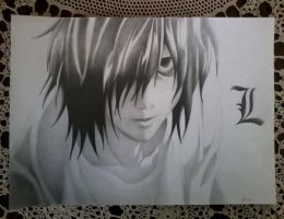 L's Premonition (Death Note) Photo 2 by DesignerMF