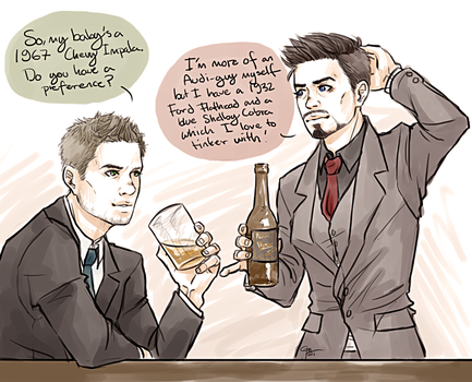 DEAN AND TONY by FISHNONES