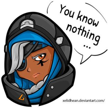 Ana overwatch by Xelidhean