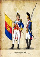 Spanish soldiers by Sapiento