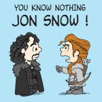 YOU KNOW NOTHING JON SNOW by carlinx