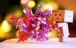 Xmas in dan-bokeh by magggg