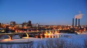 Minneapolis Night 2 by simpspin