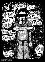Those Punk Rock Songs by Dandy-Jon