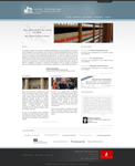 Paris law school web interface proposal 1 by Seyart