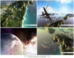 Bermuda Triangle: WP Pack by janvanlysebettens