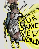 Brave New World School Poster by chesterslinkinlady