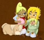Family Holiday Portrait by BeagleTsuin