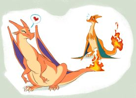 Charizard Used Attract by ThisCrispyKat