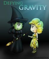 You and I, Defying Gravity by DarthxErik
