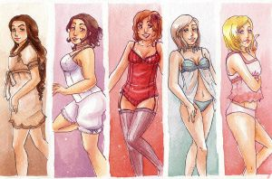 Lingerie by Mirabel-chan