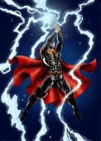 Thor wrath by night by SpiderGuile