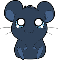 Midnight Blue Hamtaro Style by MBPanther