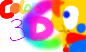 Colors 3D welcome by Uxie126