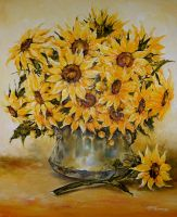 Sunflowers ..... by radina