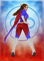 Graviton Girl by Redfill by jhansard