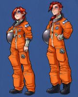Hiroshi and Hiroko in Space by AdamWithers