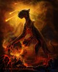 Rain of Fire by BlackMysticA