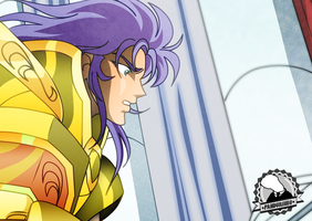 Saint Seiya - Saga Face (Profile) by TheWolfMonster