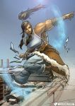Avatar: The Legend of Female Muscle Growth by female-muscle-comics