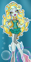 Monster High Lagoona Blue School out by Kings-of-Queens