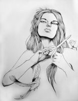 Imperfection SKETCH by animeangel07