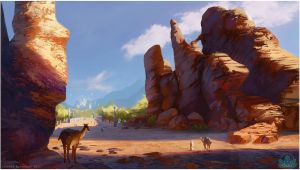 Project Oasis: On the Road by Lyraina