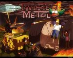 Simpsons twisted metal by AlexRaspad
